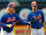 Noah Syndergaard, Steven Matz Battling Bone Spurs