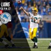 Packers-Lions Flexed to Sunday Night Football