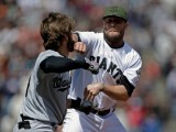 MLB Hands down Suspensions for WSH/SFG Brawl