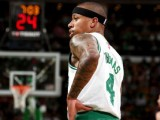 Isaiah Thomas Out for the Playoffs With Hip Injury