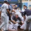 Detroit Tigers/New York Yankees Game Mired by Hit Batters, Brawl