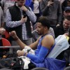 Andre Roberson Ruptures Left Patellar Tendon; Done for Season