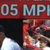 Cardinals' Jordan Hicks Throws Two 105 MPH Pitches Sunday
