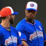 MLB: All Star Game-American League Practice